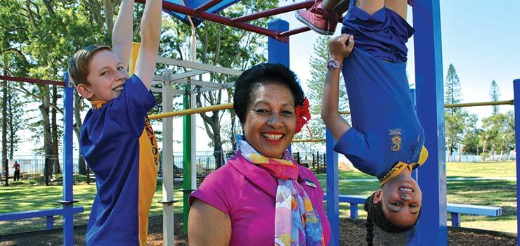 Sharing the Playground