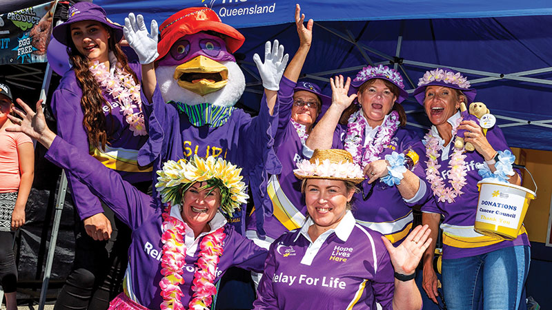 Redcliffe Relay For Life raises funds... and hopes!