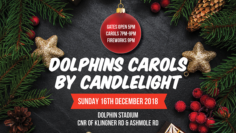 Dolphins Carols by Candlelight and Fireworks