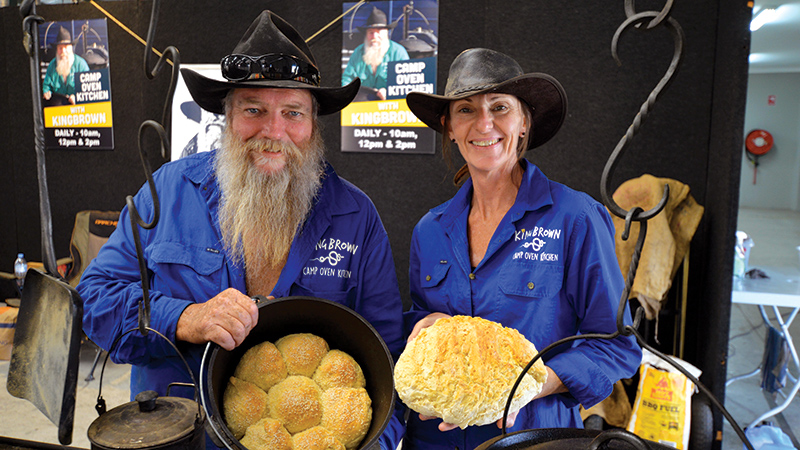 'KING' OF THE CAMP OVEN COOKS AT EXPO
