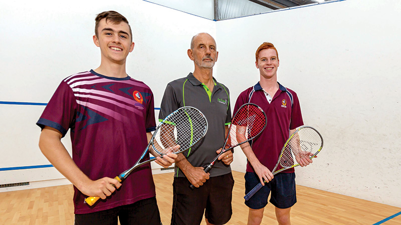 Squash Juniors Shining Bright
