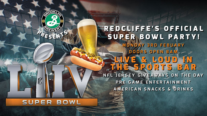 Redcliffe's Official Super Bowl LIV Party