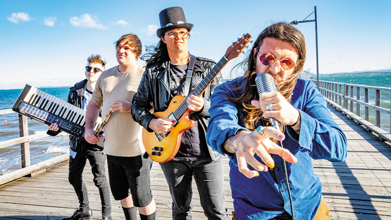 Battle of  the Bands  in Woody Point