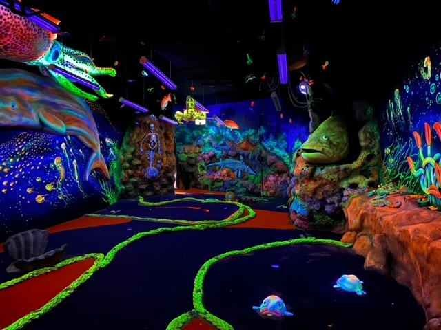 "A ""hole"" lot of fun promised for grand opening weekend of Undersea Putt & Play"