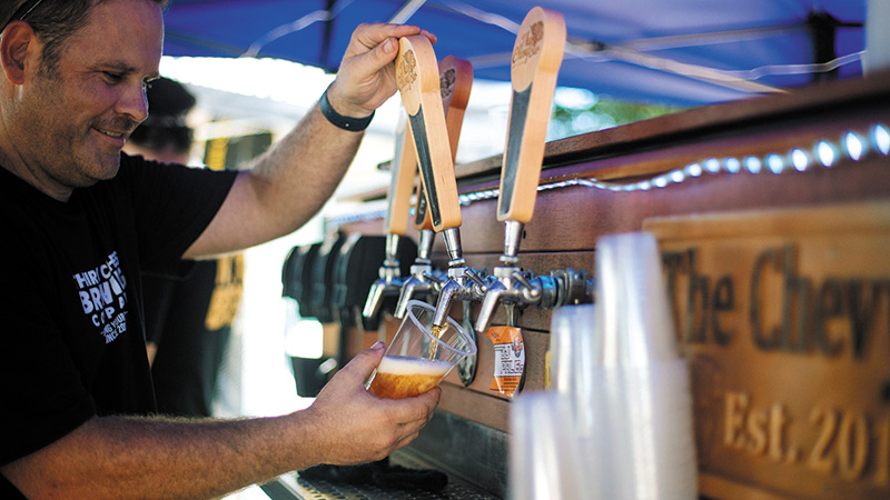 Crack Open a Frothy At Beer Fest