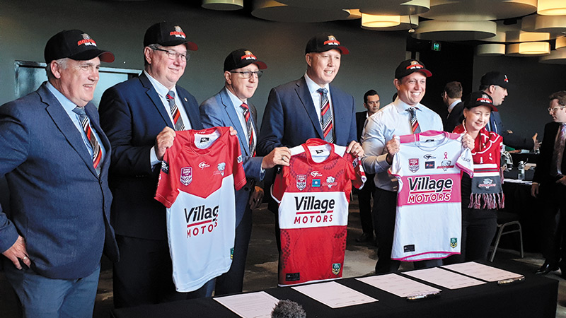 Dolphins Lead Bipartisan Charge For NRL Licence