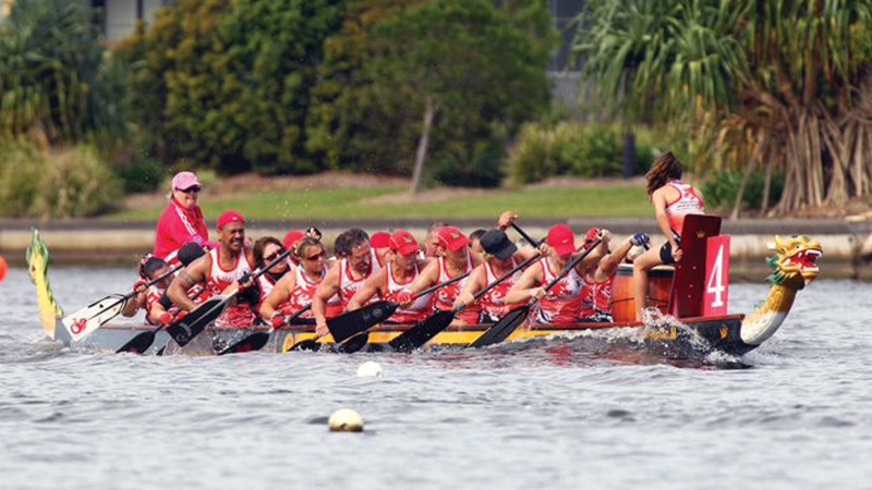 Come and Try Dragon Boating