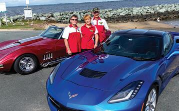 Motor into the Corvette Classic
