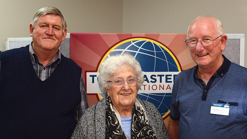 Peninsula Toastmasters Club toasts to 40 years  of operation