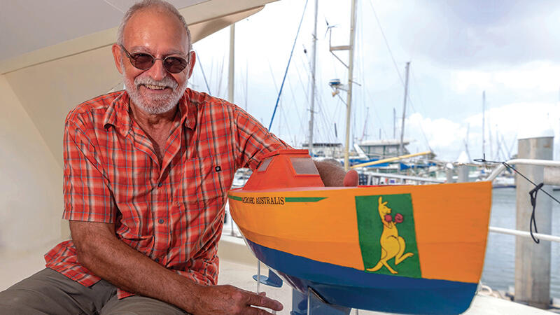 World Record Holder to Set Sail Again