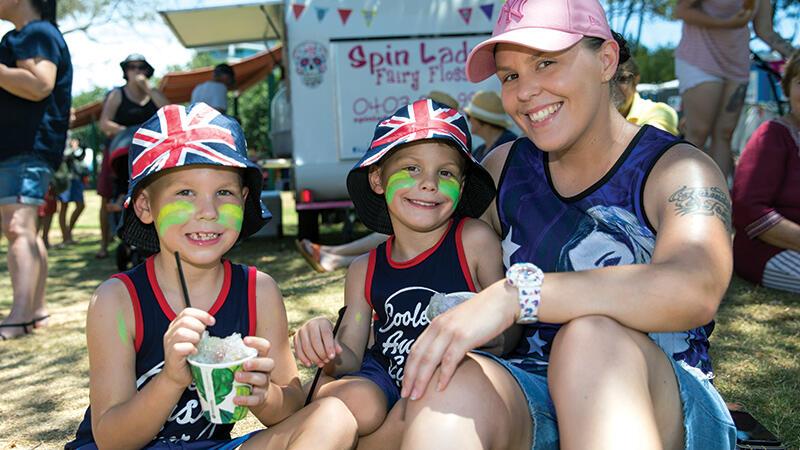Australian All Let Us Rejoice - Australia Day On The Beach