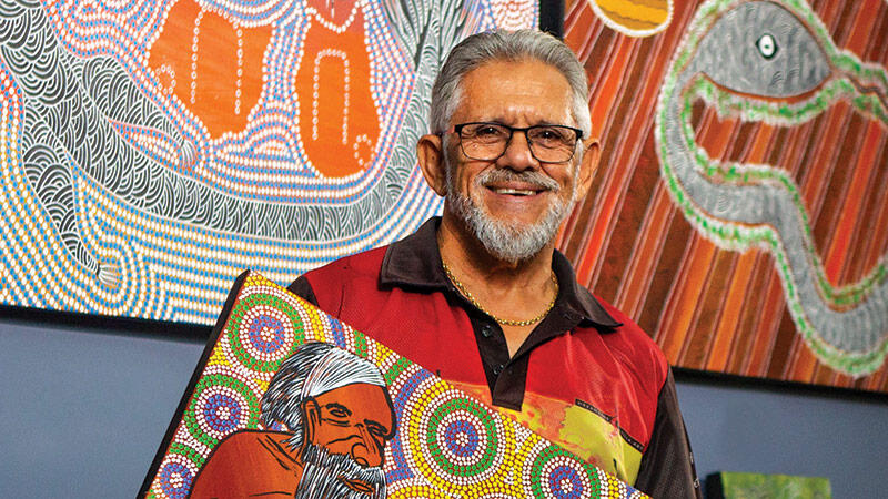 Furthering Aboriginal Culture: A Lifelong Passion