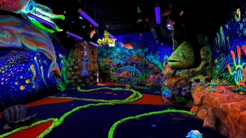 """A """"hole"""" lot of fun promised for grand opening weekend of Undersea Putt & Play"""