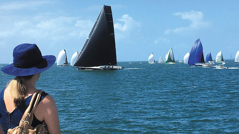 Moreton Bay Cruise Offers Yacht Race Action