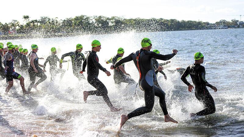 Triathlon Flexes With More Festivity