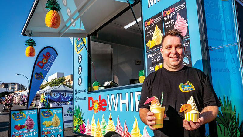 Aloha Twist Sees Diners Flip Over the Whip