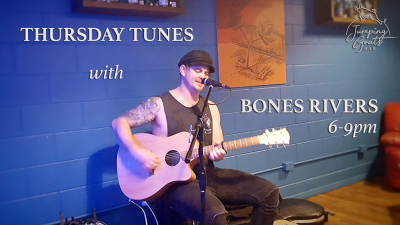 Thursday Tunes with Bones Rivers