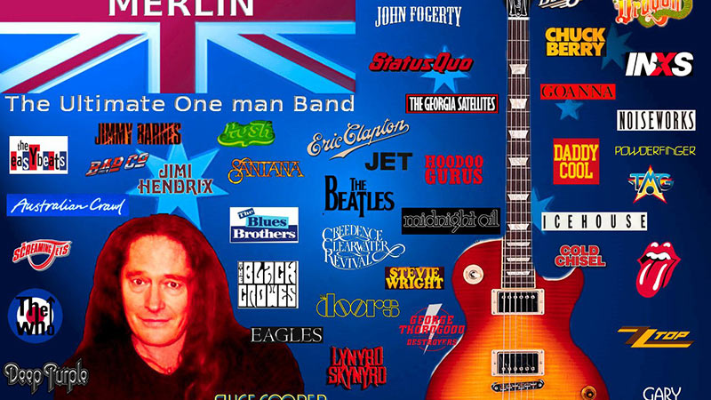 MERLIN - The Ultimate One Man Band