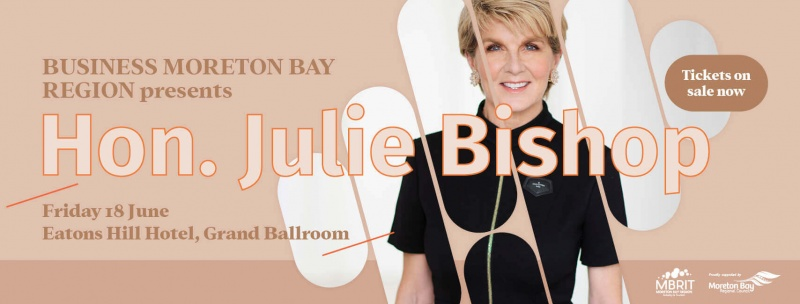 Business lunch with Julie Bishop